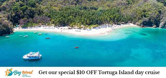 Tortuga Island one day tour