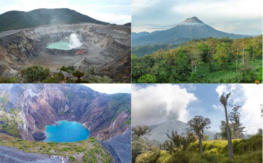 Costa rica question and answer - volcanoes