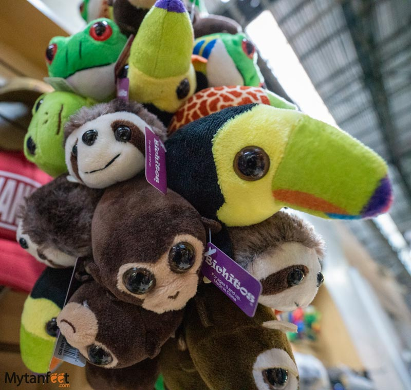 Best souvenirs from Costa Rica - stuffed animals