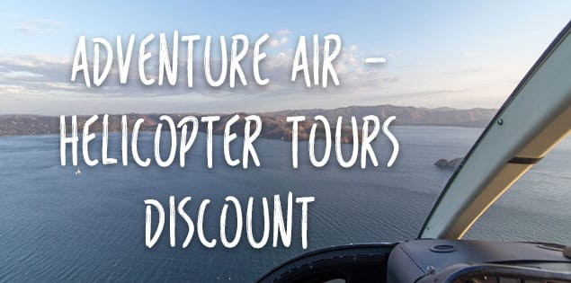 Costa Rica helicopter tours discount featured