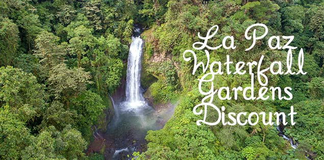 La Paz waterfall gardens promo code featured