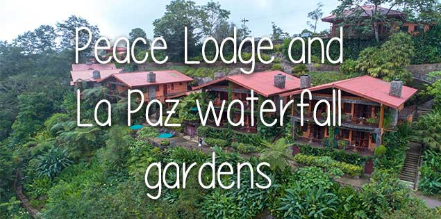 Peace Lodge and La Paz waterfall gardens featured