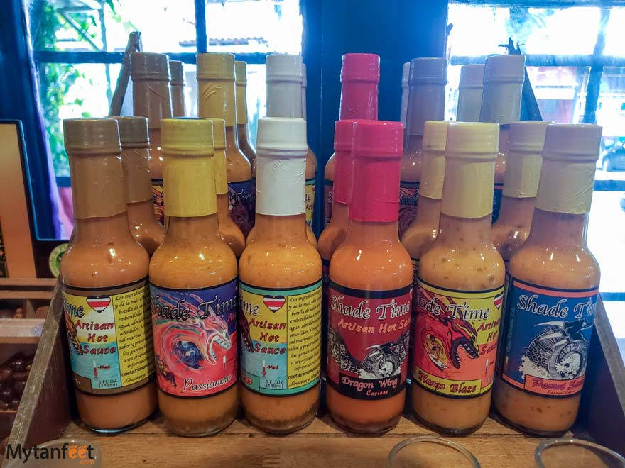 Souvenirs from Costa Rica - hot sauce