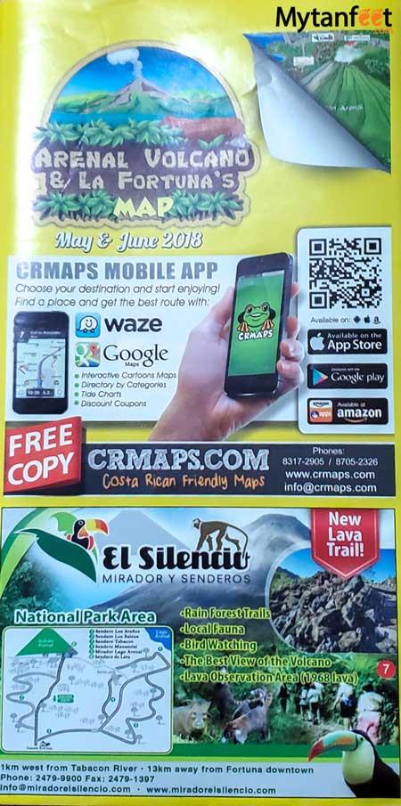 Costa Rica maps - CRMAPS