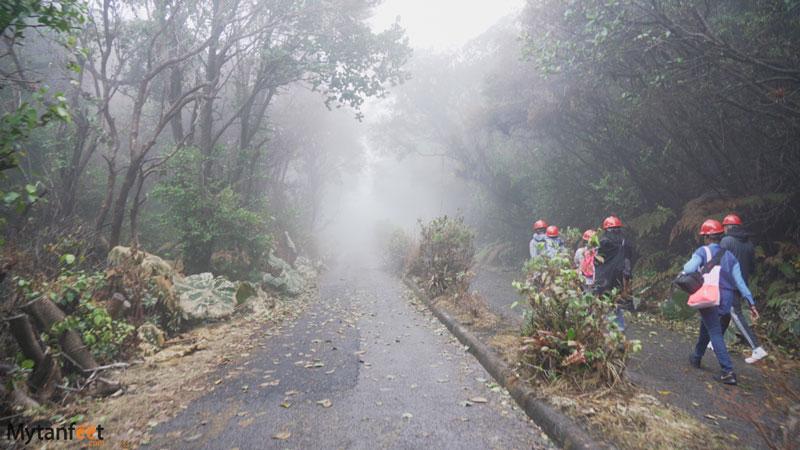 Poas Volcano National Park trails
