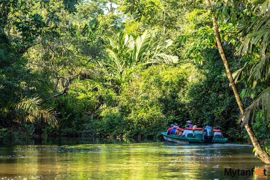 Tortuguero packages - boat tour