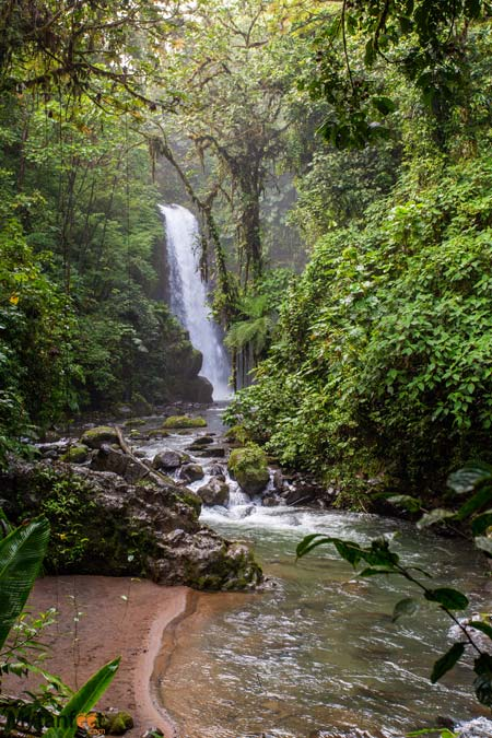 La Paz waterfall gardens - day trip from San Jose