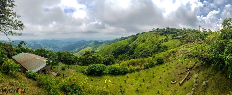 Views of Monteverde to Tilaran
