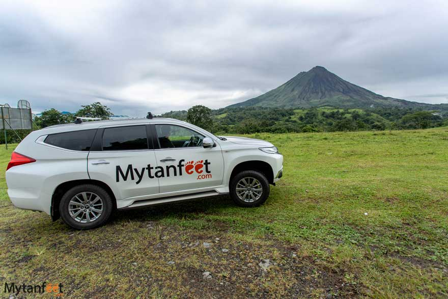 1 month Costa Rica itinerary - arenal volcano