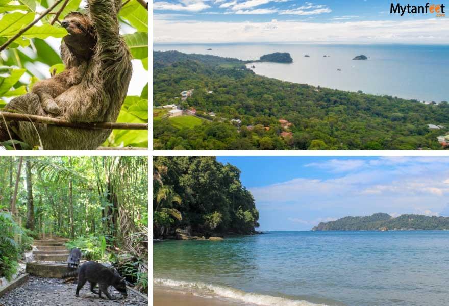 1 month Costa Rica itinerary - manuel antonio