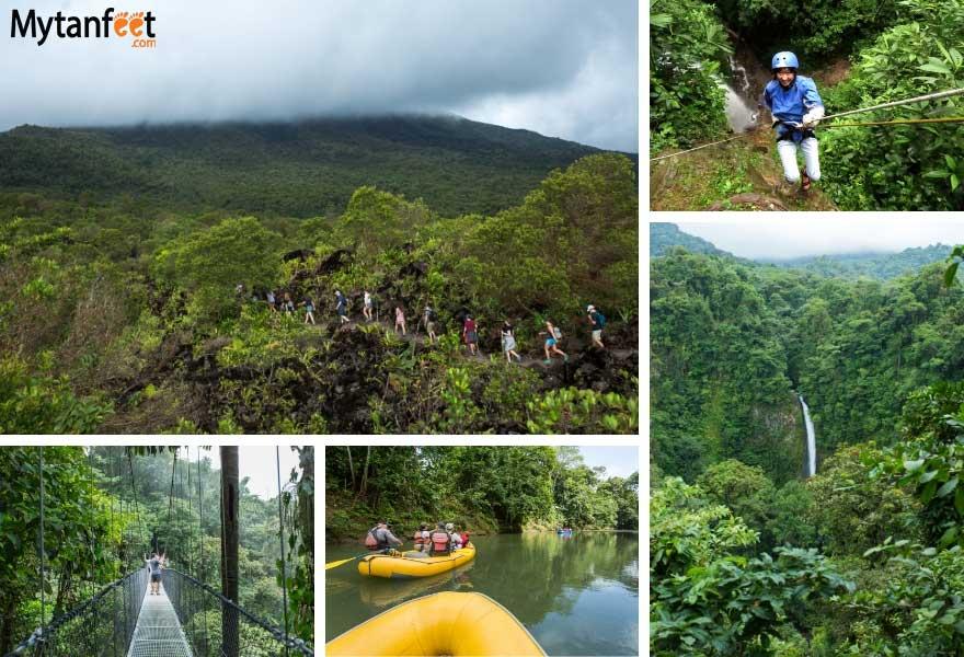 1 month Costa Rica road trip itinerary - La Fortuna
