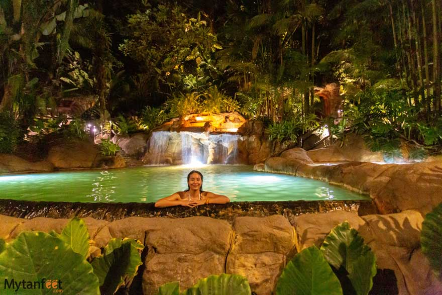 The best La Fortuna hot springs resorts - the Springs