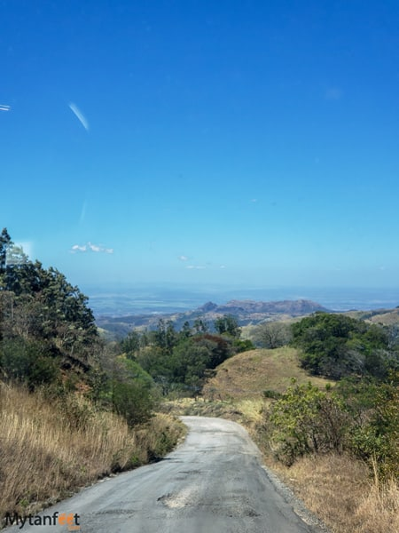 Route 145 Las Juntas to Monteverde