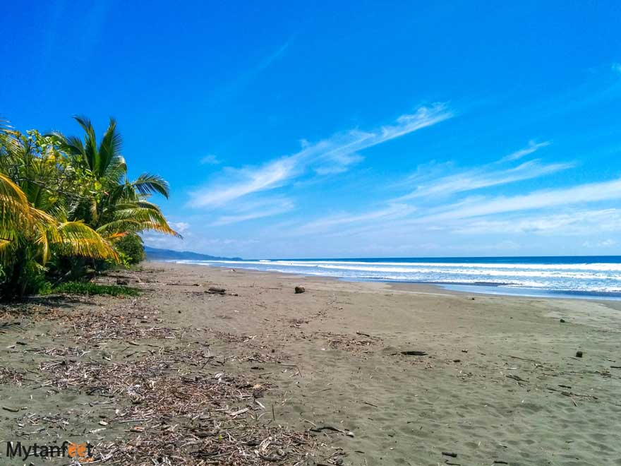 Playa Linda Matapalo beach