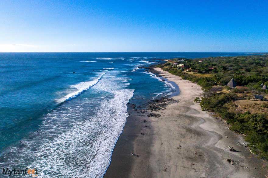Playa Negra beach view