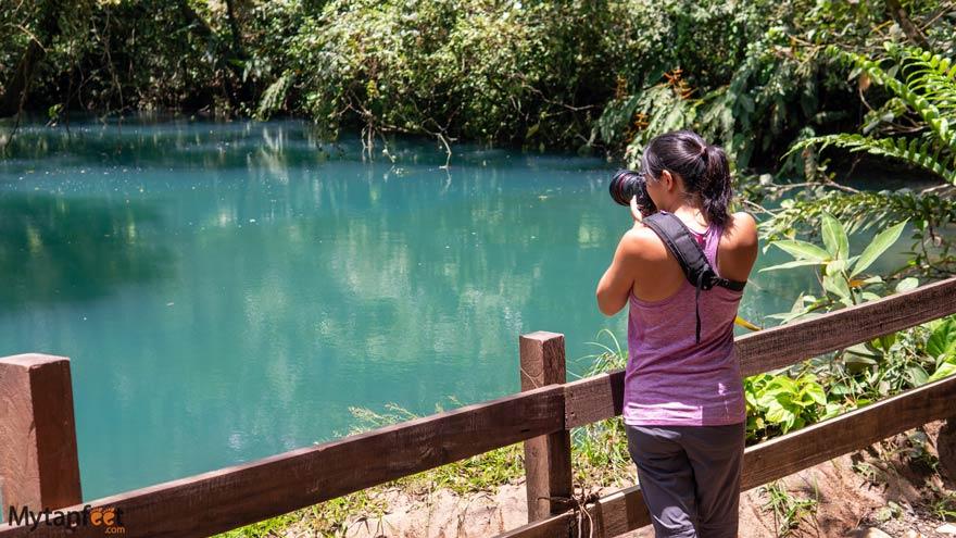 Rio Celeste blue lagoon