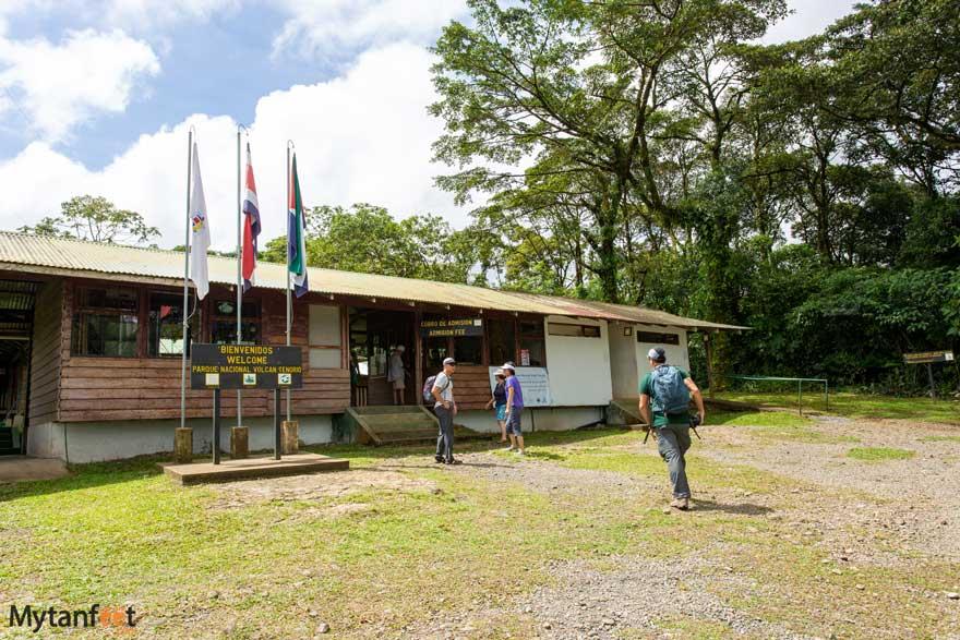 Rio Celeste ticket office