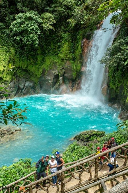 Celeste river Waterfall platform