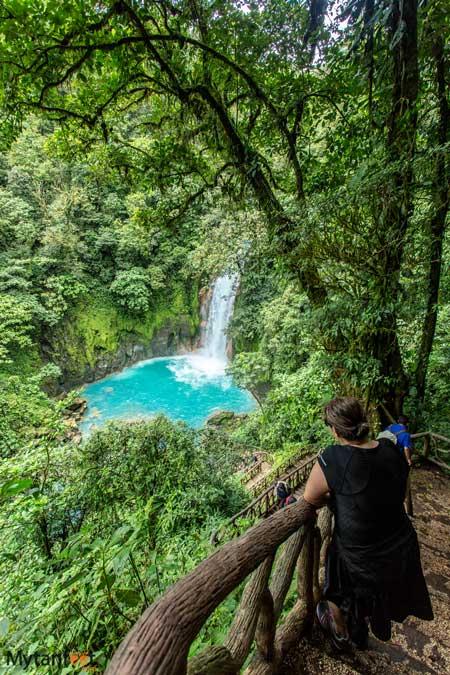 Rio Celeste waterfall
