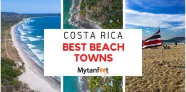 best beach towns in costa rica featured