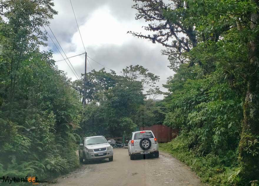 Monteverde road conditions