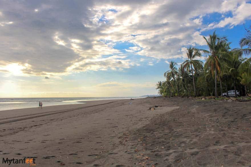 Bejuco beach at sunset
