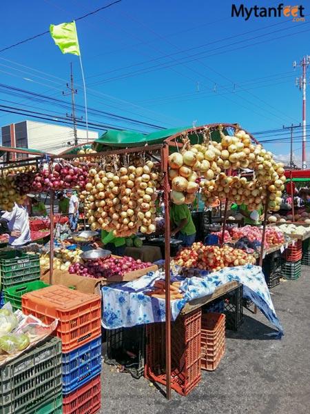 Costa Rica ferias del agriculturo - produce farmers markets