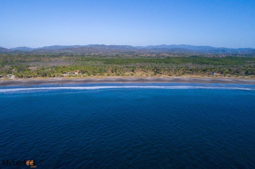 Junquillal-beach