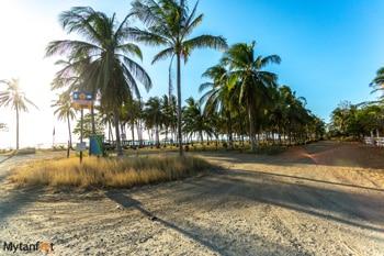 Playa Junquillal beach entrance