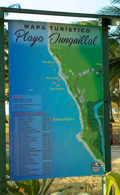 Playa Junquillal map