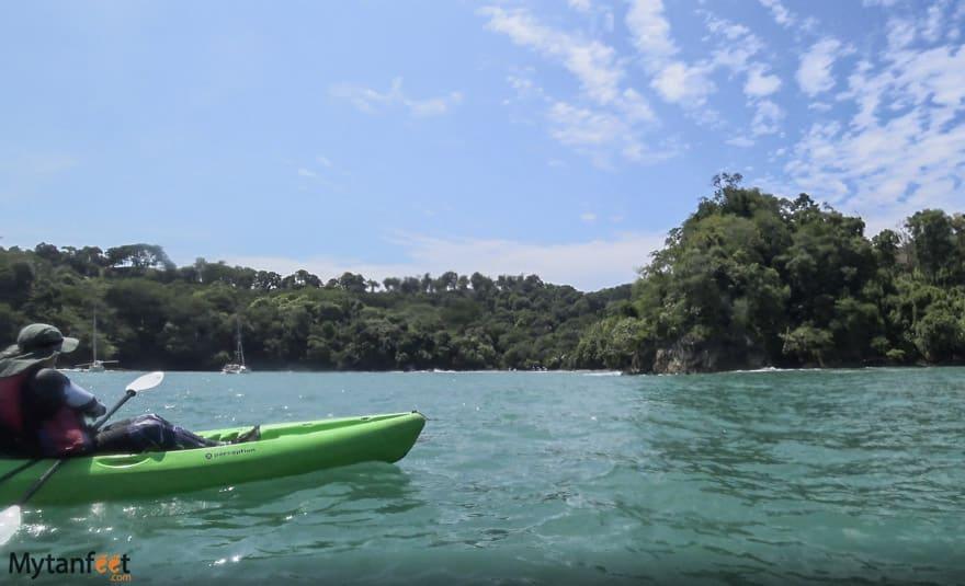 things to do in manuel antonio - ocean kayaking