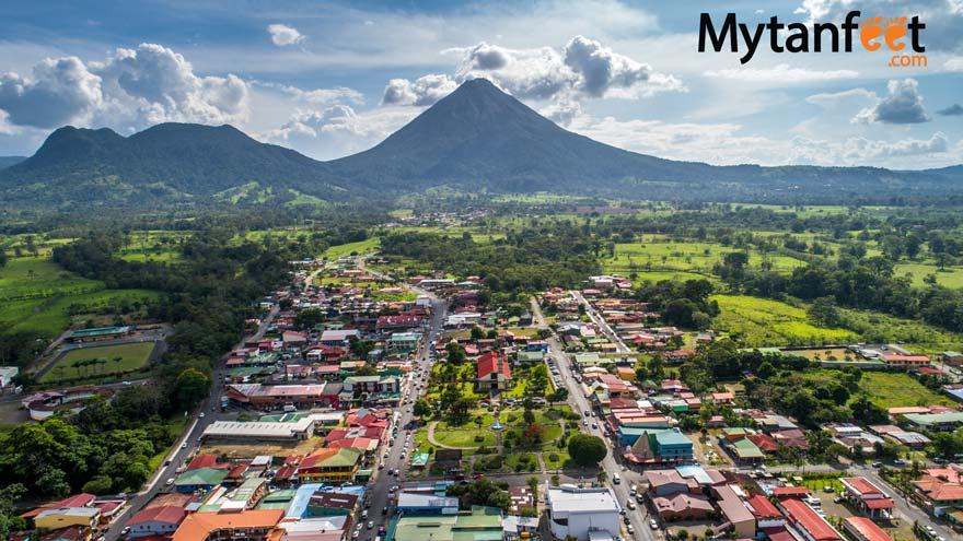 La Fortuna and Arenal Volcano