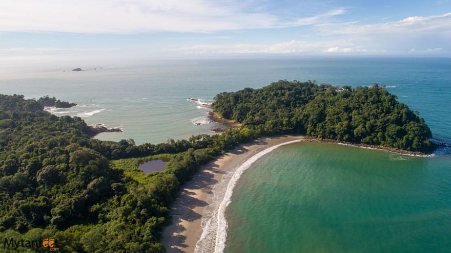 Manuel Antonio National Park is one of the most beautiful and most visited places in Costa Rica