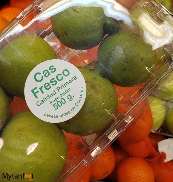 Costa Rica fruit cas