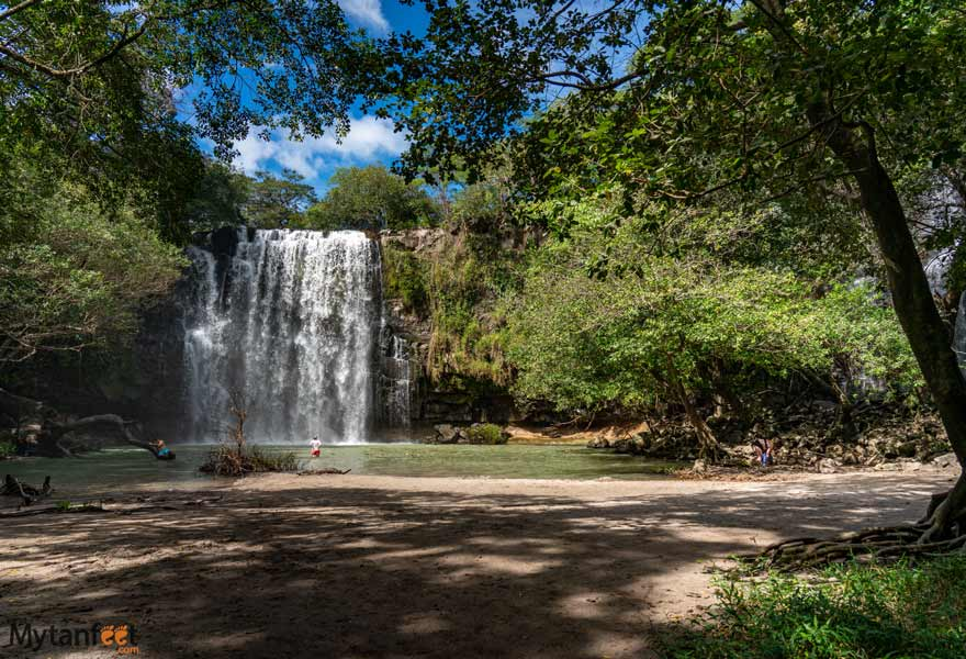 Waterfall in Bagaces, Guanacaste, Costa Rica