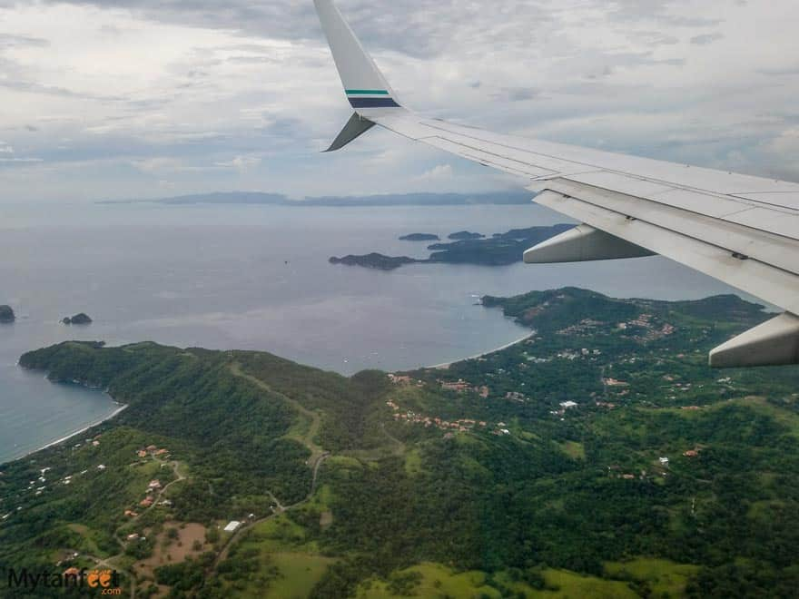 How to get to Playas del Coco from LIberia Airport