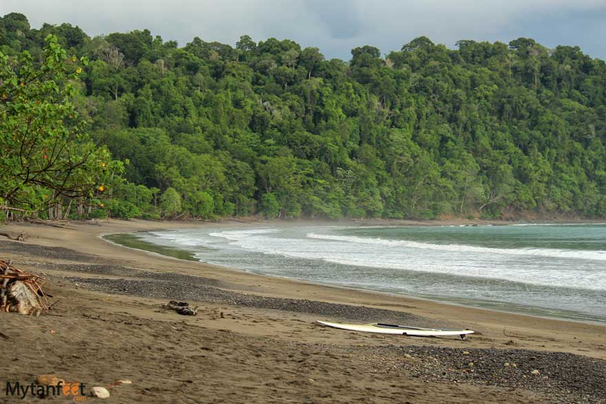 Playa Herradura beach