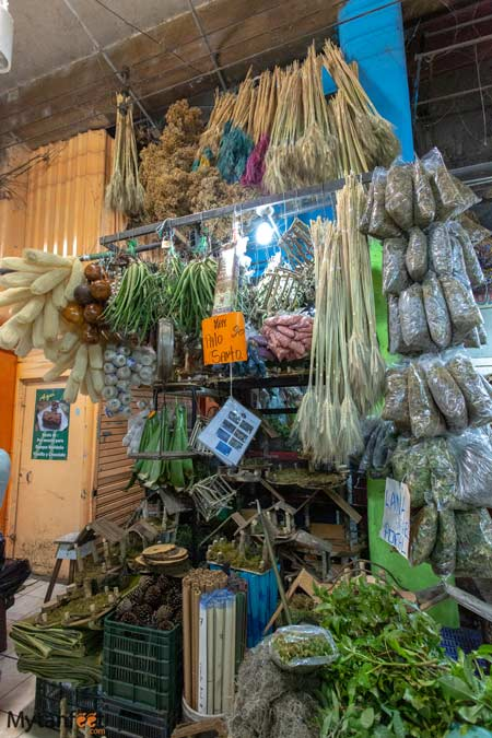 Stall in the market