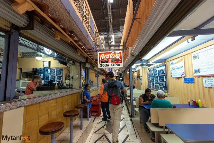 San Jose central Market - soda tapia