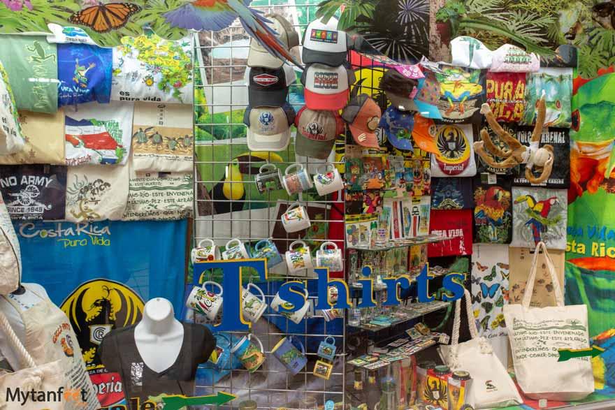 Costa Rican souvenirs