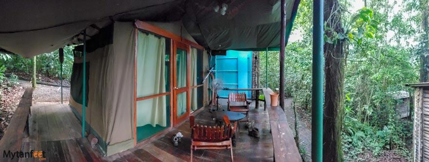 Hacienda Pozo Azul tent