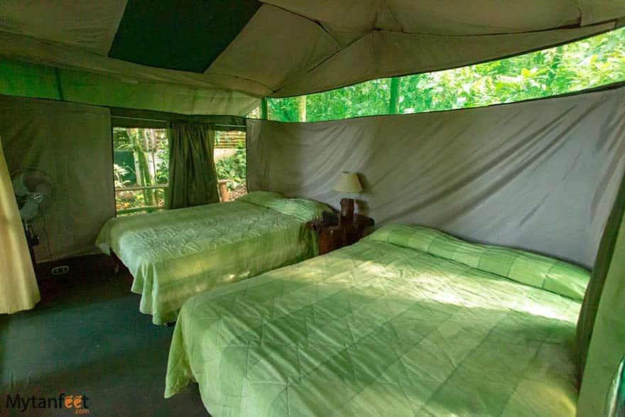 Hacienda Pozo Azul tents