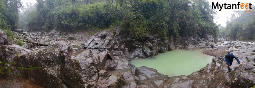 Catarata rio AGrio and Pozas Azules
