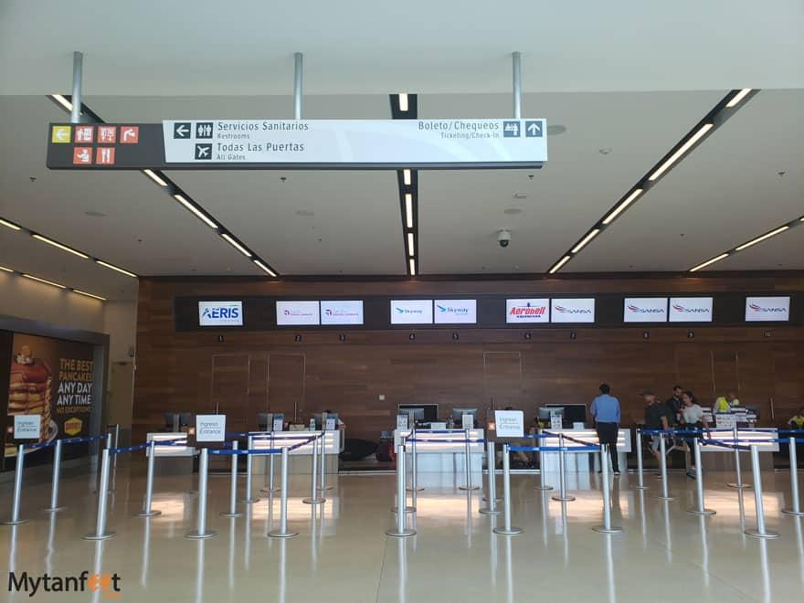 Costa Rica domestic flight San Jose domestic terminal