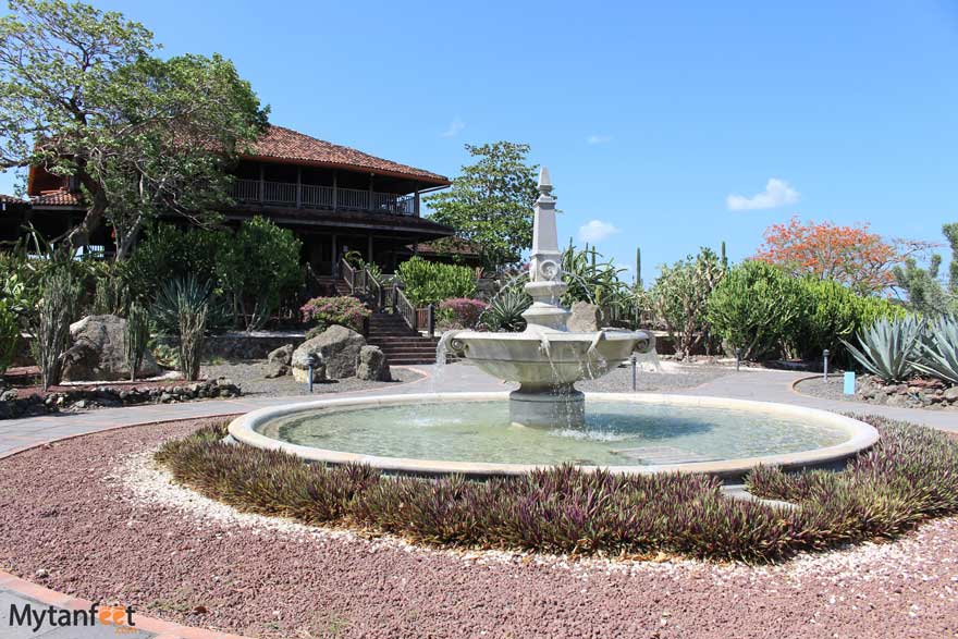 Hacienda El Viejo wetlands entrance