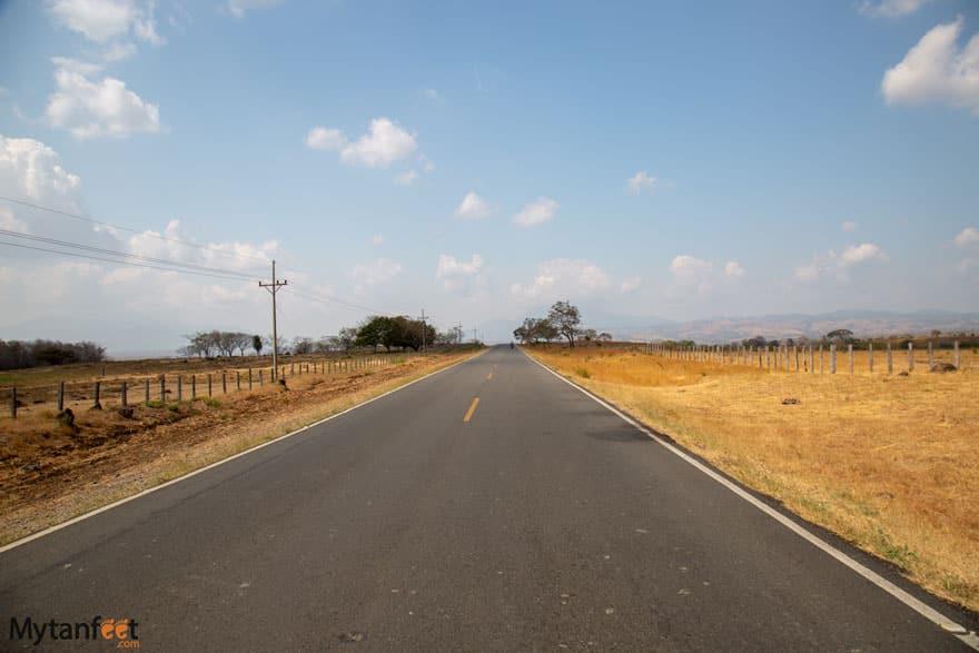 How to get to Rio Celeste from Liberia