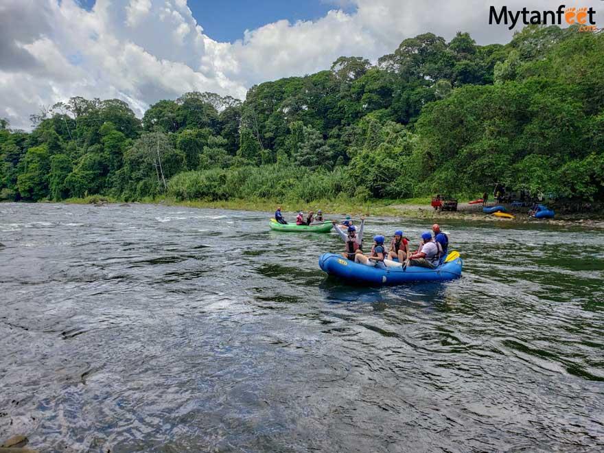 sarapiqui white water rafting - best things to do in sarapiqui