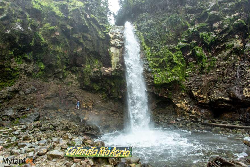Rio Agrio waterfall