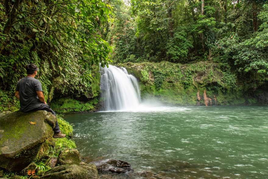 Waterfall Poza Azul