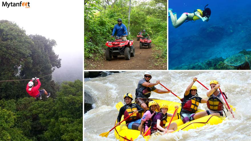 do's and don'ts of Costa Rica - outdoor adventures